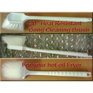 Henny Penny Gong brushes