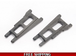 SUSPENSION ARMS REAR SLASH 2WD RUSTLER STAMPEDE F/R SLASH 4X4