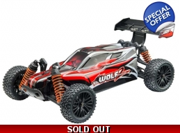 Wolf 2 Buggy RTR, 1/10 Scale, 4WD