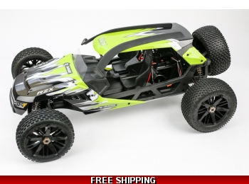 RZX Brushless Buggy 1/6 Scale, 2WD