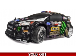 WR8 FLUX Ken Block Gymkhana Ford Fiesta ST RX43 RTR 1/8 4WD Rally Car Electric