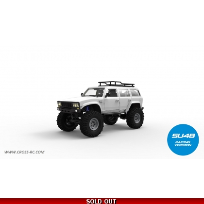 SU4B 1/10 Demon 4x4 Crawler Kit-Full Hard Body SUV, Steel