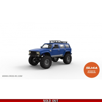 SU4A 1/10 Demon 4x4 Crawler Kit-Full Hard Body SUV, Steel Rims