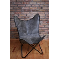 Butterfly chair - Buffalo Leather
