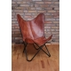 Butterfly chair -Goat Leather