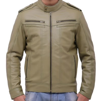 Olive Green Men Jacket