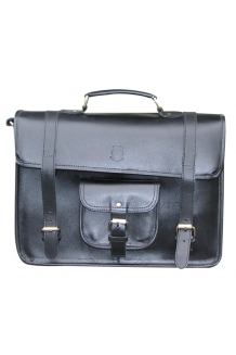 Corporate Leather Bag - Black