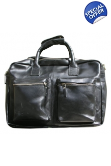 Corporate Leather Bag with 2..