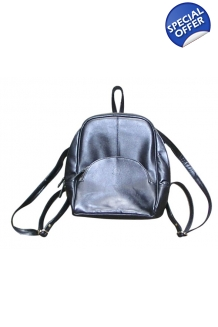 Backpack - Leather- Black