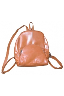 Backpack - Leather- Tan