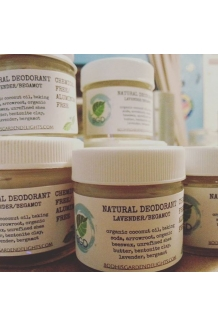 Natural Deodorant  Unscented