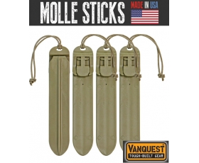 "Vanquest 5"" Molle Sticks 4-Pack"