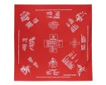 Red First Aid Bandana