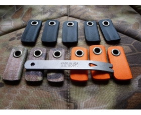 Kydex Sheath for CountyComm Widgy Bar by Ru Titley Knives