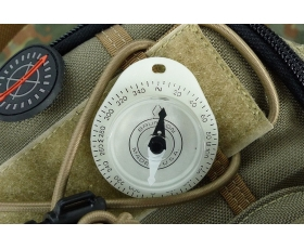 Brunton Glowing Keyring Compass