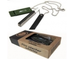 Survival Multi Tool Magnesium Fire Starter Kit F..