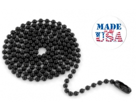 Tactical Black Ball Chain