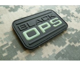 PVC Velcro Patch - GITD Black OPS