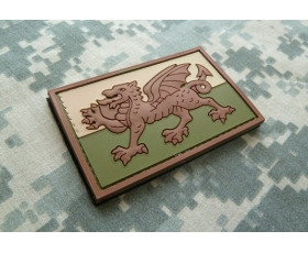 PVC Velcro Patch - Flag of Wales