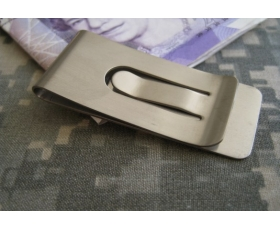 Titanium Money Clip rev2