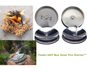 Tinder HOT Box Solar Fire Starter™