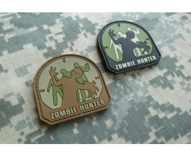 PVC Velcro Patch - Zombie Hunter