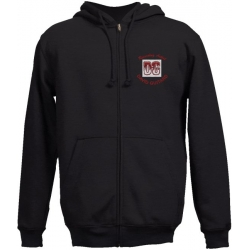 1100 2-A JERZEES® Super Sweats Embroidered Full-Zip Hooded Sweatshirt