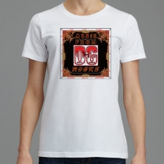 702 B2-A SignatureSoft Women's T-Shirts Featuring Professional Recording Artist David Guitard aka DG - Music From 'small' DG Rocks