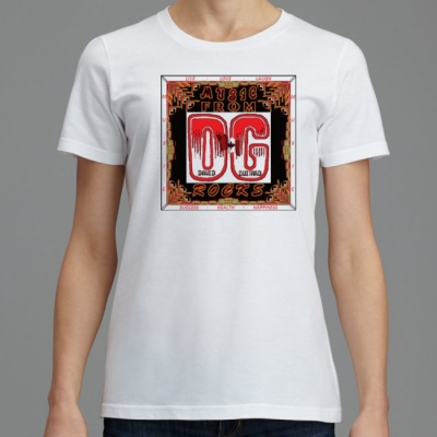 705 B2-B SignatureSoft Women's T-Shirts Featuring Professional Recording Artist David Guitard aka DG - Music From 'big' DG Rocks