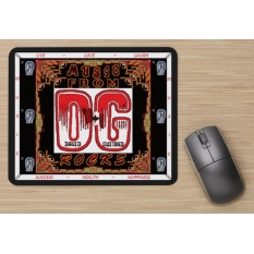801 B2-D DG MousePad, use your computer with DG - many to choose from!