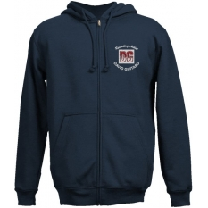 1101 2-A JERZEES® Super Sweats Embroidered Full-Zip Hooded Sweatshirt