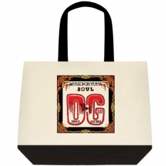 991 Two Tone Deluxe Classic Cotton Tote Back