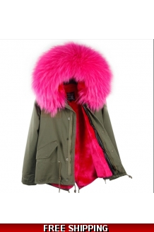Raccoon Fur Parka
