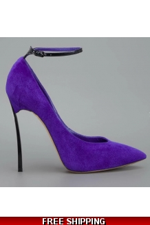 Fashion Forward Suede Pumps