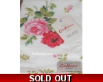 Cath Kidston Guest Towel Antique Rose White Vint..