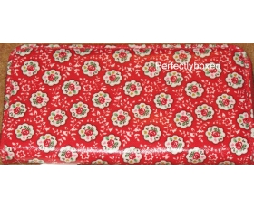 Cath Kidston Zip Wallet Kempton Rose Red Floral Oilcloth