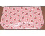 Cath Kidston Washbag Lattice Rose Pink Oilcloth ..