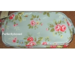 Cath Kidston Cosmetic Bag Trailing Flowers Blue ..