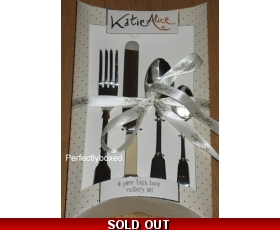Katie Alice Faux Bone Cutlery 16 piece Vintage Retro