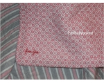 Greengate Quilt Alba Red Double Floral Toile