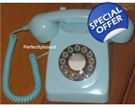 GPO 746 Blue Retro Phon..