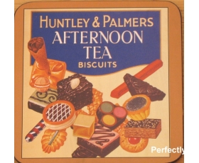 Robert Opie Coaster Huntley & Palmers Biscuits Drinks Mat