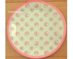 Greengate Melamine Plate Smilla Mint Vintage Pin..