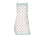 Greengate Apron Smilla White Vintage Floral with..