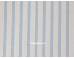 Fitted Sheets Blue Stripe King Soft Brushed Cott..