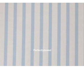 Fitted Sheets Blue Stripe King Soft Brushed Cotton Bedlinen