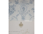 Blue Toile de Jouy Single Duvet Sashi Vienna Flo..