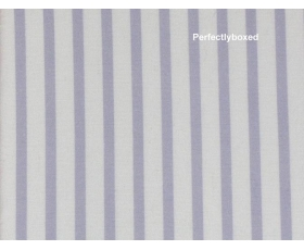 Pillowcases Lilac Stripe Single Soft Brushed Cotton Bedlinen Purple