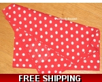 Red Polka Dot Napkins s..