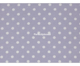 Pillowcases Lilac Polka Dot Spot Single Brushed Cotton Purple